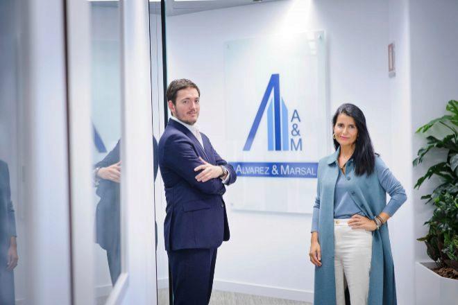 Cristina Almeida e Ignacio Basagoiti, 'managing directors' de A&M.