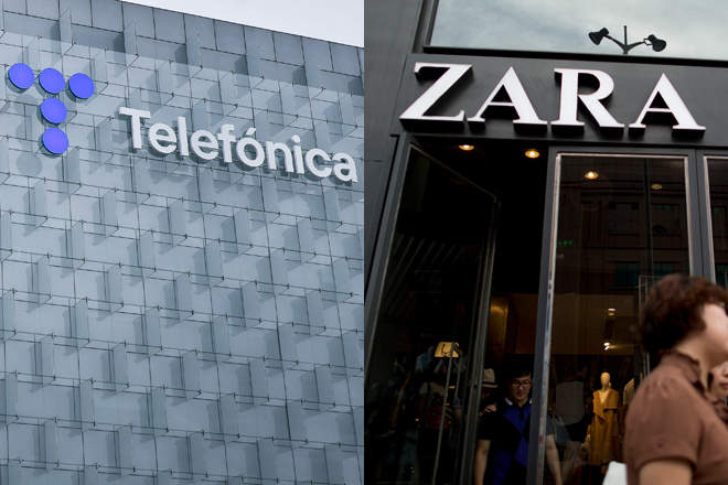 Telefónica e Inditex, atractivos tras los últimos recortes