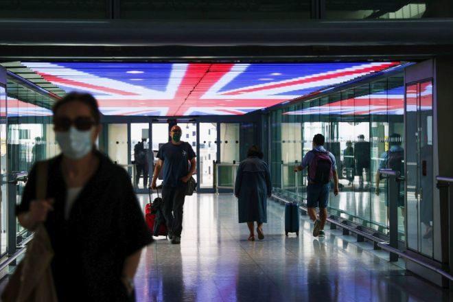 Imagen del aeropuerto londinense de Heathrow