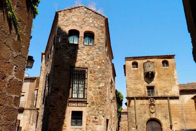 La Casa del Águila de Cáceres situada en el centro de la ciudad, declarada por la Unesco Patrimonio de la Humanidad.