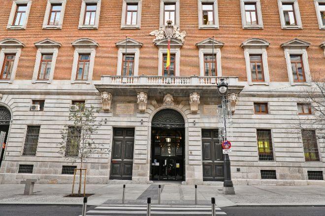 Sede del Ministerio de Hacienda e Madrid.