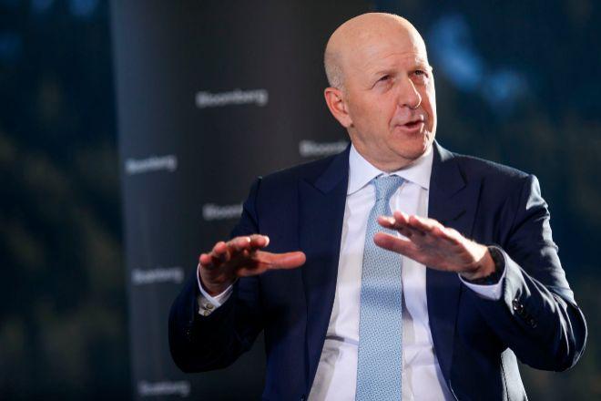 David Solomon, consejero delegado de Goldman Sachs.