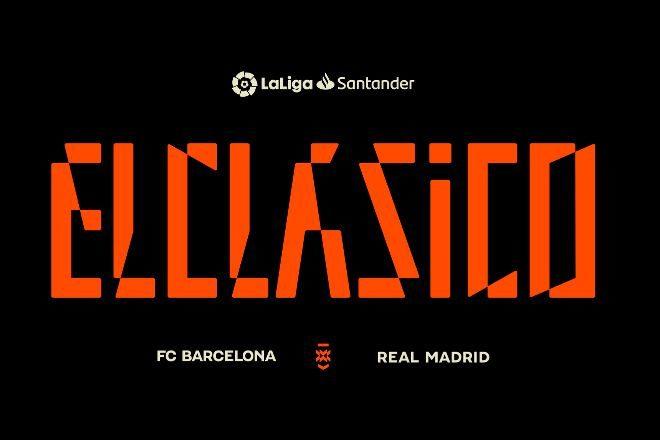 LaLiga ha lanzado un nuevo logotipo e identidad de marca de El Clásico que se estrena el domingo.