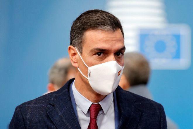 El presidente del Gobierno, Pedro Sánchez, ayer en Bruselas antes de la reunión del Consejo Europeo.