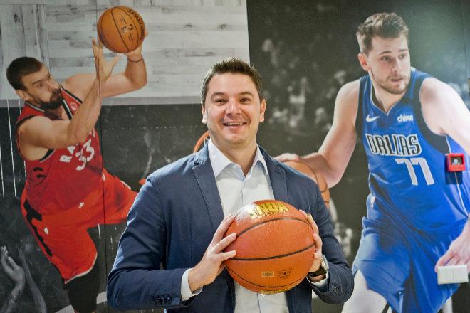 George Aivazoglou, jefe de Fan Engagement y Direct-to-Consumer de la NBA para Europa y Oriente Medio.