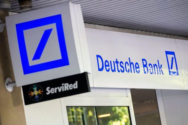 Sucursal de Deutsche Bank en Madrid.