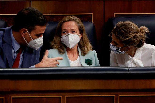 """Unidas Podemos acusa a Calviño de """"injerencia"""" en la reforma laboral"""