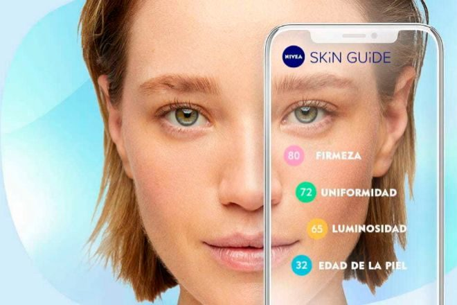 Una 'app' de Nivea ayuda, con IA, a conocer qué tratamientos necesita tu piel.