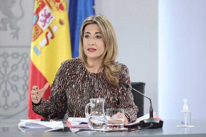 La ministra de Transportes, Movilidad y Agenda Urbana, Raquel Sánchez.
