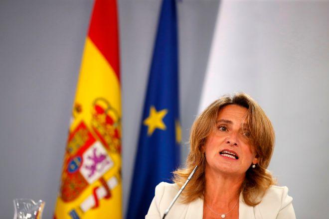 La vicepresidenta tercera, Teresa Ribera.