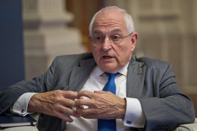 Martin Wolf, comentarista jefe de Economía de 'Financial Times', en una foto de archivo.