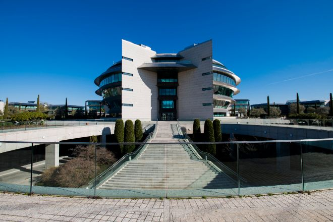 Sede de Banco Santander, en Madrid.