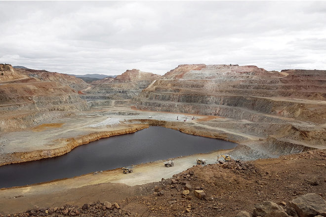 La mina de Riotinto (Huelva) empezó a ser explotada por los romanos.