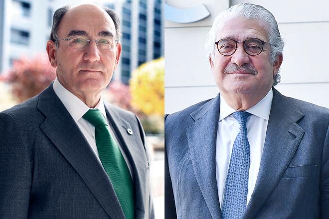 Ignacio Sánchez Galán, presidente de Iberdrola, y José Bogas, consejero delegado de Endesa.