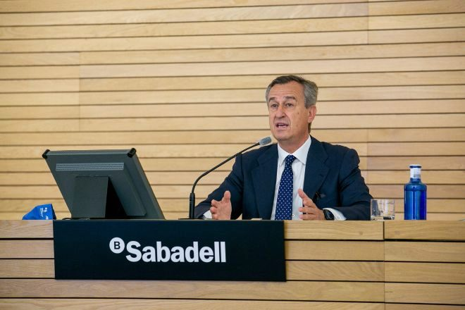 César González Bueno, consejero delegado de Sabadell.