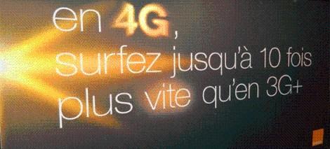 El 4G de Orange en Francia