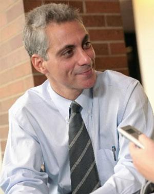Rahm Emanuel, ha aceptado ser el jefe de Gabinete del presidente electo de EEUU Barack Obama