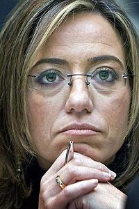 La ministra de Defensa, Charme Chacón. EFE/José Ramón Vidal