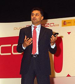 Nikesh Arora, presidente de Operaciones de EMEA y vicepresidente de Google Inc.