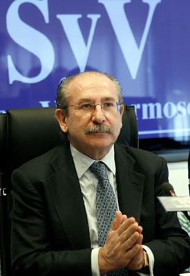 Luis del Rivero, presidente de Sacyr | Foto Efe