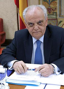 Manuel Núñez Pérez, presidente del Tribunal de Cuentas. EFE/Fernando Alvarado