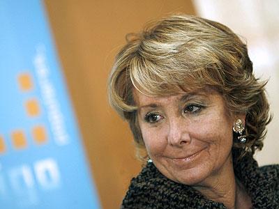 La ministra de la Comunidad de Madrid, Esperanza Aguirre. EFE/Salvador Sas
