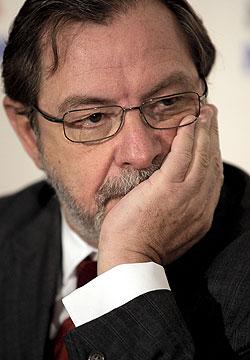 Juan Luis Cebrián, consejero delegado del Grupo Prisa. EFE/Emilio Naranjo