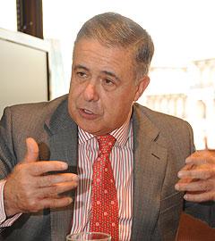 Antonio Ojeda, presidente del Consejo General del Notariado.
