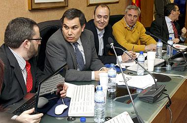 Reunión entre el Comité Nacional de huelga de la Asociación Judicial Francisco de Vitoria (AJFV) y del Foro Judicial Independiente (FJI) mantenida el día 14 con los miembros de los Comités de Huelga territoriales de toda España y con jueces decanos para organizar la huelga del 18-F. EFE/Kote Rodrigo