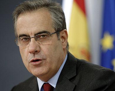 El ministro de Trabajo e Inmigración, Celestino Corbacho . EFE/Ángel Díaz