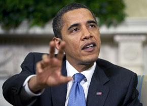El presidente de Estados Unidos, Barack Obama, en una intervención en la Casa Blanca   Foto: Bloomberg