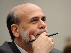 El presidente de la Reserva Federal, Ben Bernanke, durante su comparecencia ante el Comité de Finanzas de la Cámara de Representantes, el pasado mes de marzo   Foto Efe