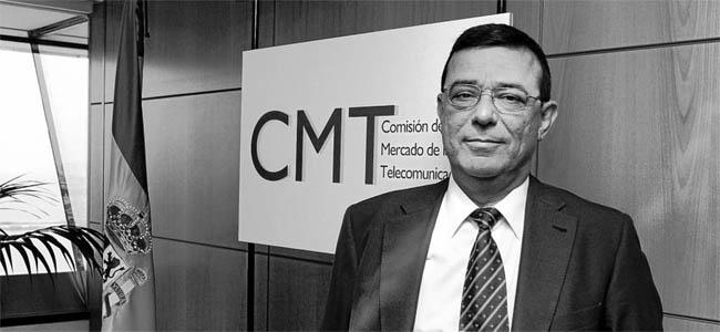 El presidente de la Comisión del Mercado de las Telecomunicaciones (CMT), Reinaldo Rodríguez
