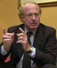 Paolo Scaroni es primer ejecutivo de Eni. / Rafa Martín