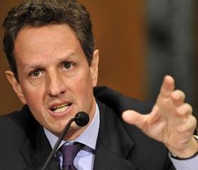 Tim Geithner, secretario del Tesoro de EEUU