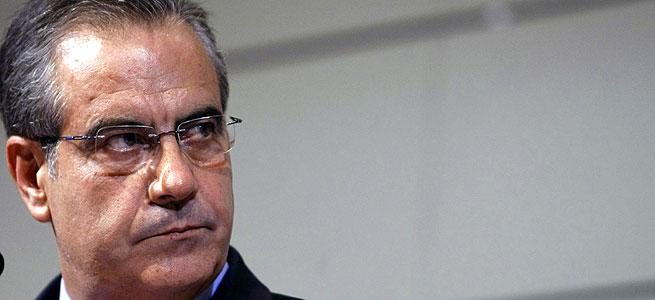 El ministro de Trabajo e Inmigración, Celestino Corbacho. EFE/Ballesteros