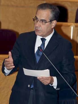 El ministro de Trabajo e Inmigración, Celestino Corbacho