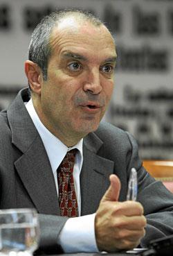 Luis Fernández, presidente de RTVE