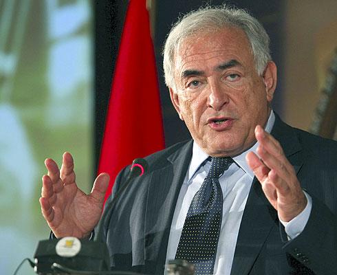El máximo responsable del FMI en una fotografía de archivo de mayo de 2009. EFE/Zacarías García