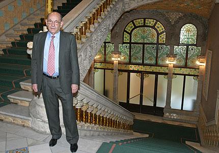 Féliz Millet, en el Palau de la Música, en una fotografía de archivo de mayo de 2007. EXPANSIÓN/Elena Ramón