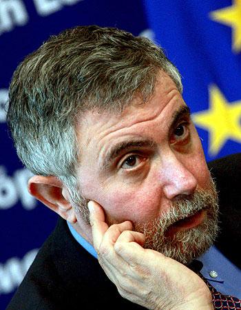 El Nobel Robert Krugman en una imagen de archivo de enero de 2009. EFE/Olivier Hoslet