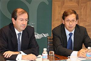 Los dos socios directores de Garrigues.
