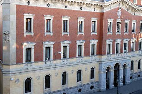 Fachada de Tribunal de Cuentas en Madrid. EXPANSIÓN