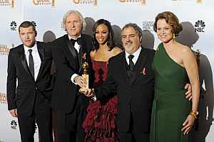 """La 67 edición de los Globos de Oro ha premiado a """"Avatar"""" como mejor película y ha galardonado a James Cameron con el Globo de Mejor Director"""