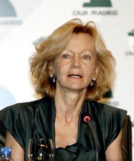 Elena Salgado, vicepresidenta primera del Gobierno y ministra de Economía y Hacienda
