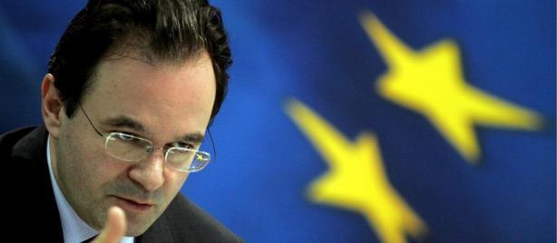 Giorgos Papaconstantinou, ministro de Economía de Grecia.