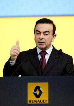 Carlos Ghosn, consejero delegado de Renault   Foto Efe cedida por Renault