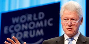 El ex presidente de Estados Unidos, Bill Clinton