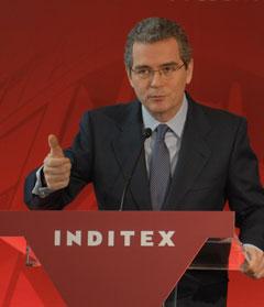 El vicepresidente y consejero delegado de Inditex, Pablo Isla