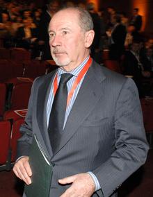 El presidente de Caja Madrid, Rodrigo Rato